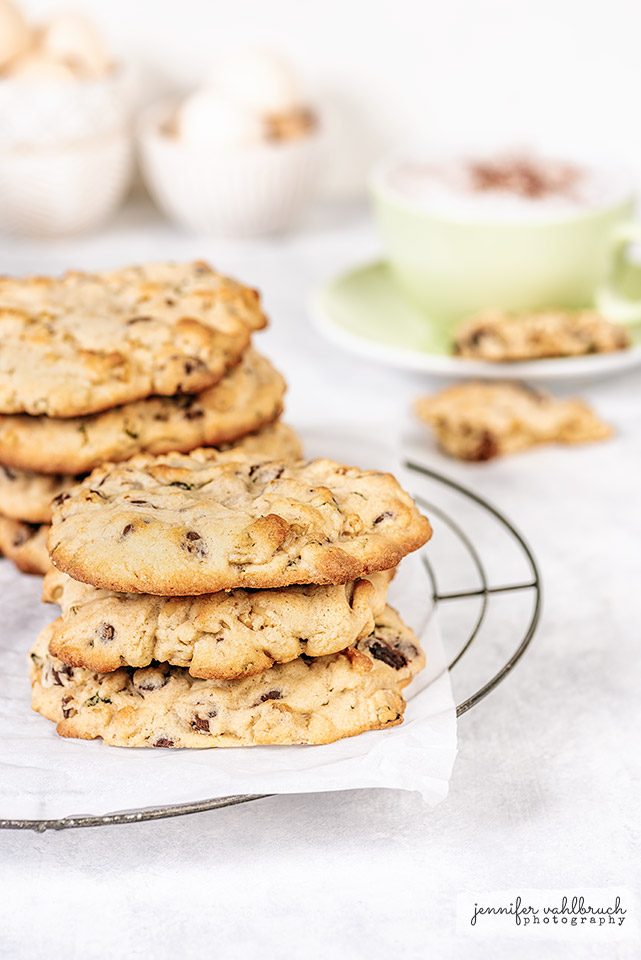Chocolate Chip Mint Cookies - Jennifer Vahlbruch