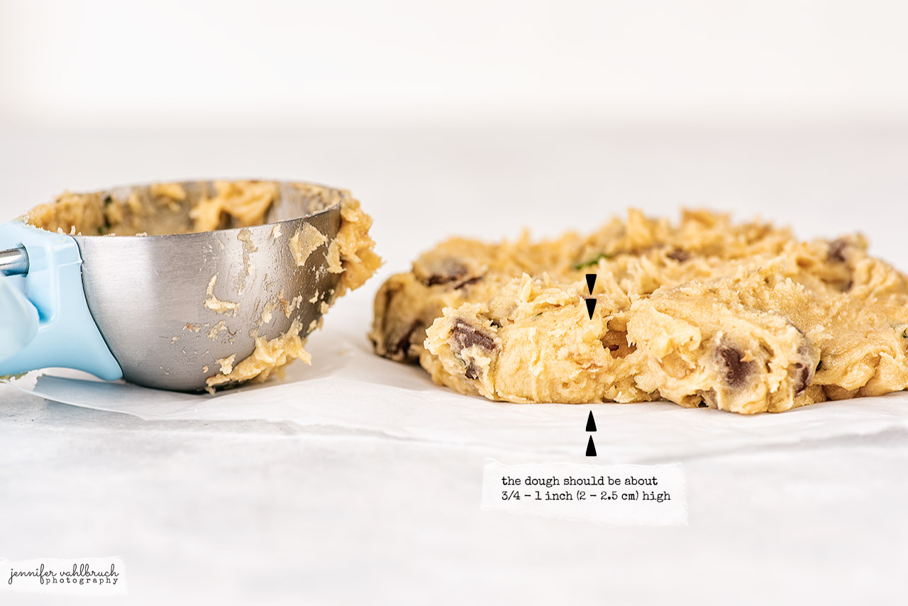 Chocolate Chip Mint Cookies - Size - Jennifer Vahlbruch