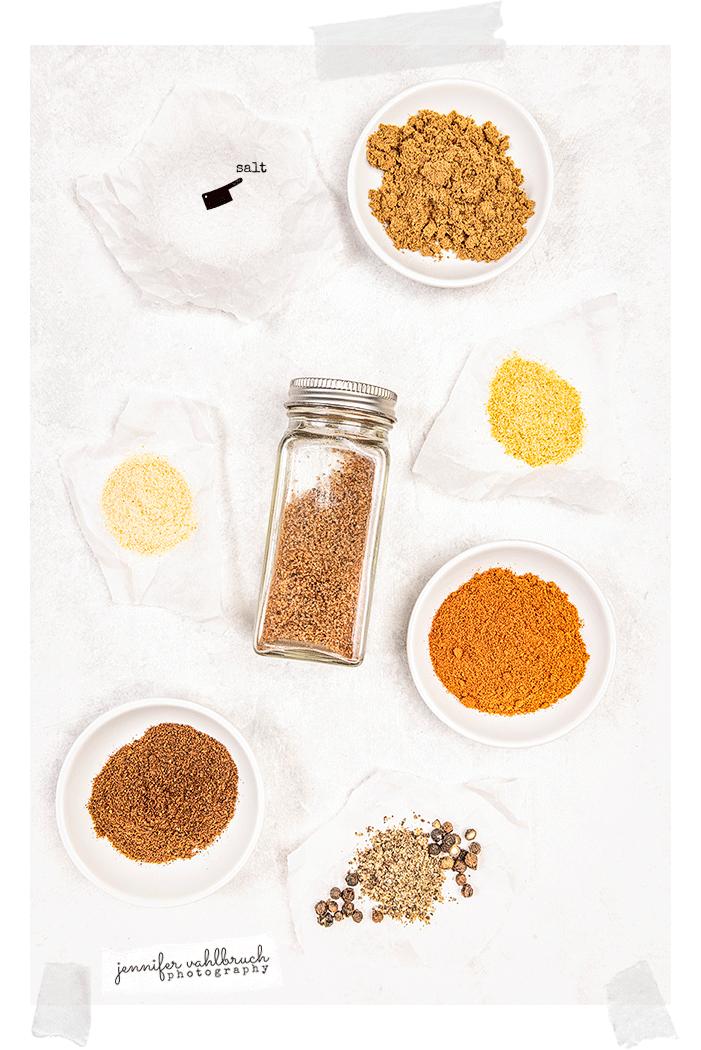 Chicken Fajitas Seasoning - Ingredients- Jennifer Vahlbruch