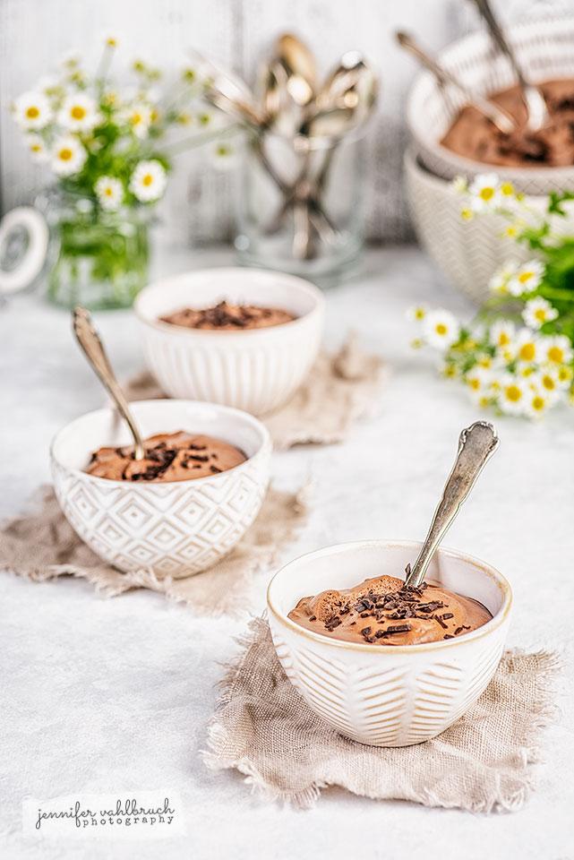 Fluffy Mousse au Chocolat