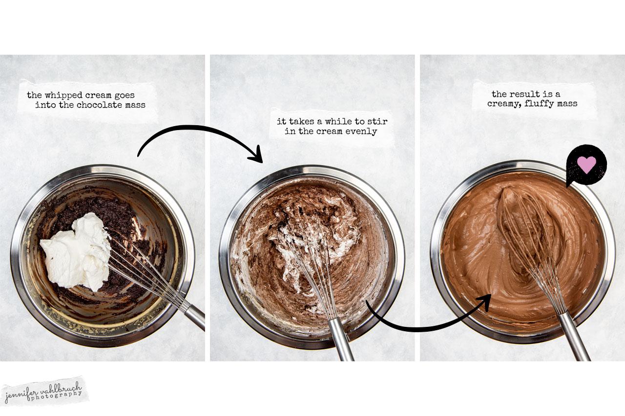 Mousse au chocolat - mass - Jennifer Vahlbruch