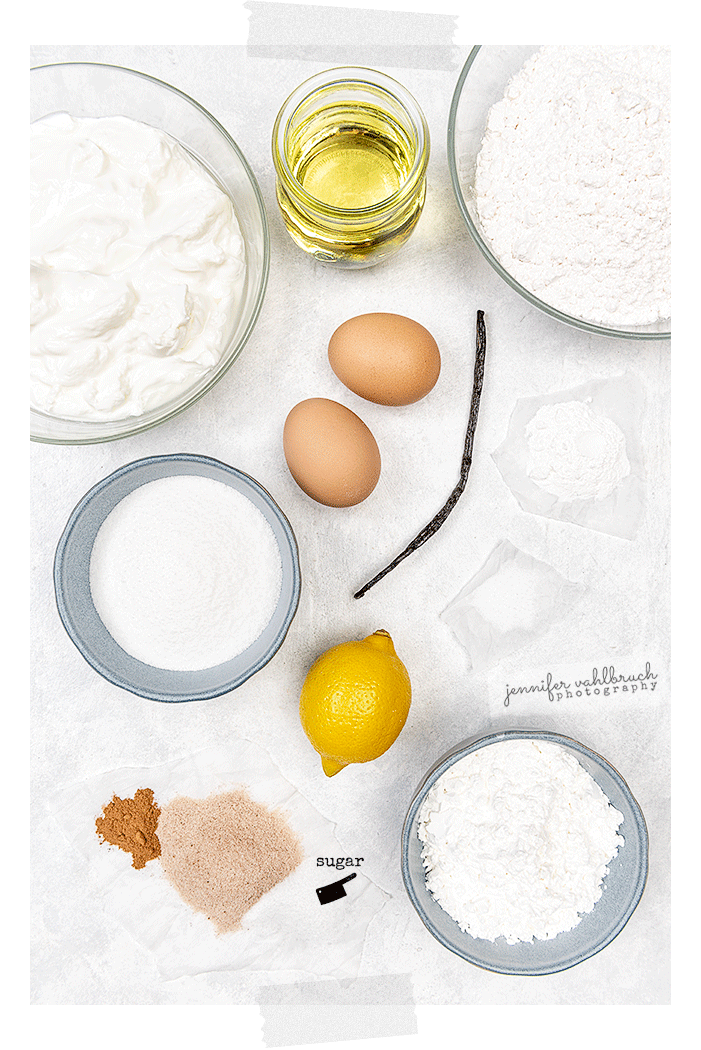 Quark Balls - Ingredients - Jennifer Vahlbruch