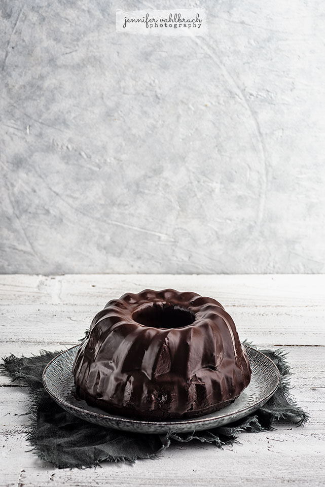 Chocolate Cherry Bundt Cake - Jennifer Vahlbruch