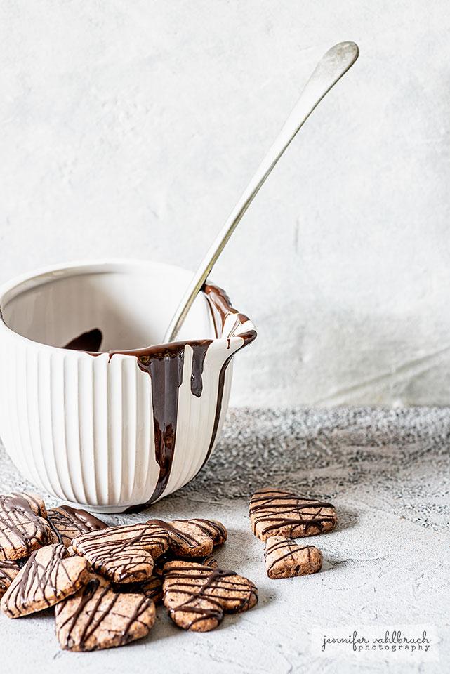 Chocolate Hearts Cookies - Jennifer Vahlbruch