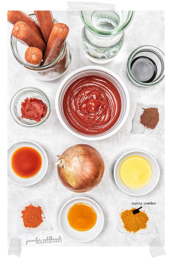 Currywurst - Ingredients - Jennifer Vahlbruch