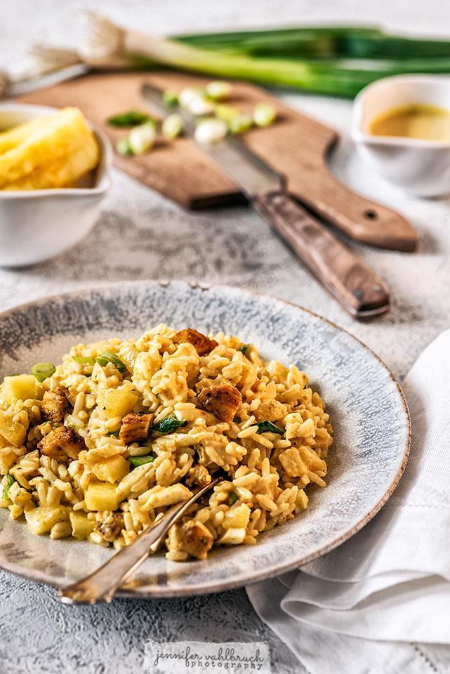 Chicken-Curry-Rice Salad - Jennifer Vahlbruch